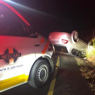 KwaZulu-Natal: One person has been injured in a single vehicle rollover on the M… 50875360 2144513478903110 473527986994282496 n 320x320