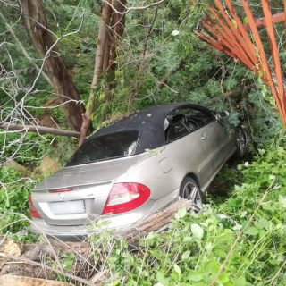 One person sustained minor injuries when a light motor vehicle crashed through a… 51221441 2146200025441350 2748582282628431872 o 320x320