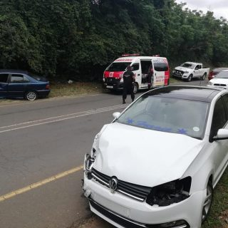 Blow Out Leads To Collision: Verulam – KZN  The driver of a BMW that collided in… 51286716 2322089461142968 5816426084417142784 n 320x320