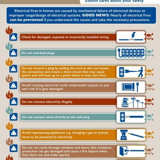 Read and share:  #ElectricitySafety tips on how to prevent electrical fires.  #S… 52516576 2675169552509772 8187826336270647296 o 320x320