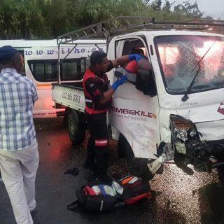 Ten Injured In Collision: Canelands – KZN  Ten people were injured following a c… 52926893 2360458010639446 8499470507593170944 n 320x320