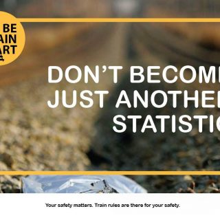 #BeTrainSmart Don't become another statistic! #TrainTalk 53341329 3062658233759742 3403849328261857280 o 320x320