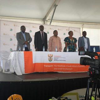 Transport imbizo led by Minister of Transport Dr Bonginkosi Nzimande together wi… 53628893 2121277044621075 5007550289356521472 n 320x320