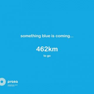 Watch this space…. 462 km to go 53865617 3100820116610220 2444310130611716096 o 320x320