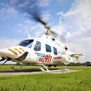 Gauteng Helicopter Emergency Medical Services: Netcare 1 a specialised helicopte… 55704696 2240544239300033 8519938749767876608 o 320x320
