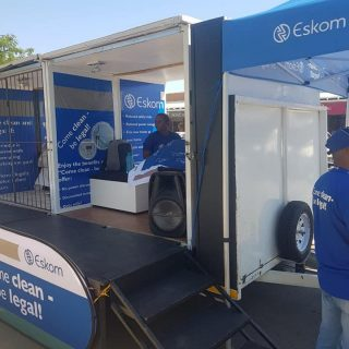 #EskomNorthWest Guardians informing and educating customers at The Crossing Mall… 55835418 2735904036436323 6540356072132050944 n 320x320