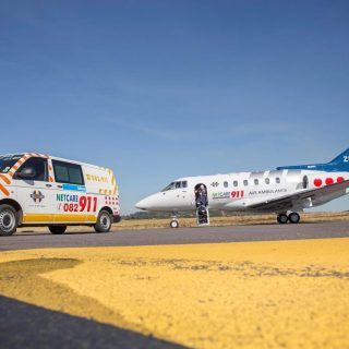 Angels Over Africa: A Netcare 911 air ambulance with Doctor and Paramedic has be… 56255464 2240557655965358 1745913345514405888 o 320x320
