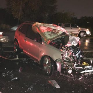 Gauteng: At 18H00 Friday evening Netcare 911 responded to reports of a collision… 56363603 2249860881701702 3869589474396602368 n 320x320