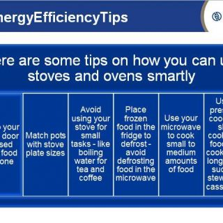 Here are some tips on how you can use stoves and ovens smartly. Eskom Integrated… 56800890 2746840262009367 7821069518268006400 n 320x320