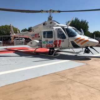 Gauteng Helicopter Emergency Medical Services: Netcare 4 a specialised helicopte… 56905110 2261037880584002 16435409617682432 o 320x320