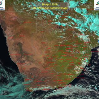 Late afternoon satellite image (16 April 2019) – Very isolated showers and thund… 57297862 1000890876780902 8284303284697563136 o 320x320