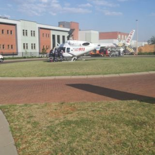 Gauteng: Netcare 1 a specialised helicopter ambulance has been activated for an … 57382243 2262250117129445 6175246352612589568 o 320x320