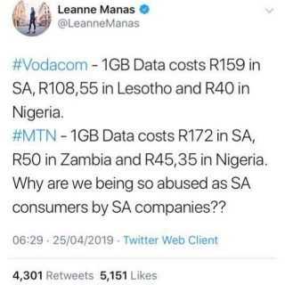 Why are #Vodacom & #MTN abusing their SA clients? Is it time to move to #Cel… 58380849 2021778331281845 988960513901723648 n 320x320