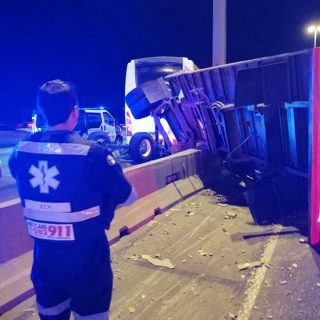 Gauteng: At 18H52 Saturday night Netcare 911 responded to reports of a collision… 58419374 2284245844929872 6684194333601562624 n 320x320