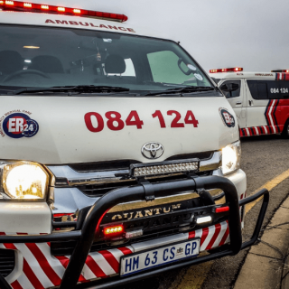 [COSMOS CITY] – Man jumps out of way of car, left seriously injured. – ER24 COSMOS CITY     Man jumps out of way of car left seriously injured