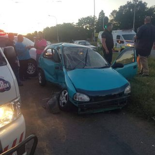 [Three Rivers] Woman suffers serious injuries in car collision – ER24 WhatsApp Image 2019 04 17 at 17