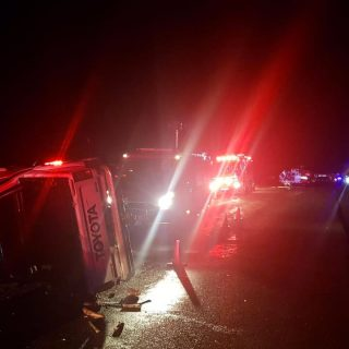 [POTCHEFSTROOM] One dead, two critical airlifted following head-on collision – ER24 WhatsApp Image 2019 04 22 at 21