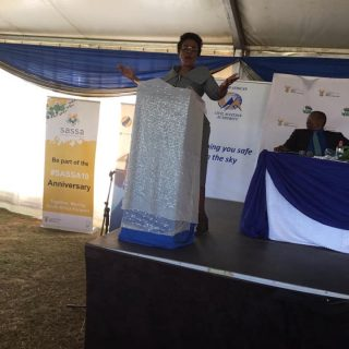 "Transport Deputy Minister Ms Chikunga Says; ""We are here to celebrate with the c… 58679362 2193904240691688 1458700691928252416 n 320x320"