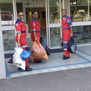 Sanele Mdluli from the ER24 Durban Central base used his own initiative to colle… 59959092 2292833657444652 4241899118177288192 o 320x320