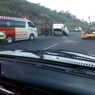Two Injured In Overturned Vehicle: R102 Verulam – KZN  Two people were injured a… 60006575 2470287236323189 6505665312044613632 n 320x320