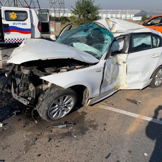 Gauteng: At 08H57 Sunday morning Netcare 911 responded to reports of a collision… 60270371 2306210416066748 5526443864119836672 n 320x320