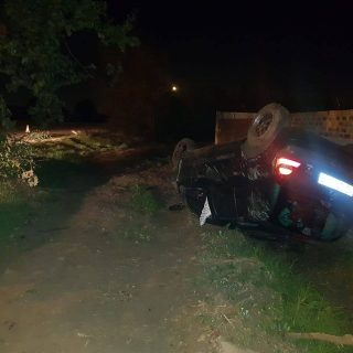No one sustained any injuries following a single vehicle rollover on the corner … 60345242 2292592480802103 7876862388983562240 o 320x320
