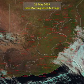 Late morning satellite image (21 May 2019) – Cold front to south-east of the cou… 61157027 1021724681364188 2685227567937486848 o 320x320