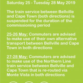 Planned re-signalling works impact train service.    Saturday 25 May to Tuesday … 61163822 3262108307148066 4888949792589217792 o 320x320