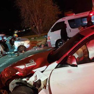 [KRUGERSDORP] – Multiple-vehicle collision leaves two injured. – ER24 KRUGERSDORP     Multiple vehicle collision leaves two injured 320x320