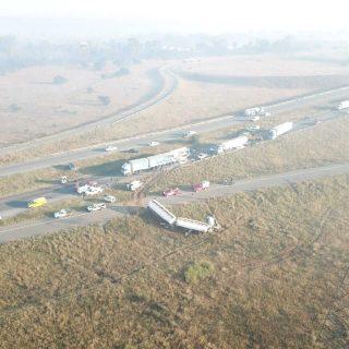 [SASOLBURG] – Five injured in nine-vehicle collision. – ER24 SASOLBURG     Five injured in nine vehicle collision 320x320
