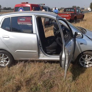 [VANDERBIJLPARK] 5 vehicles in funeral procession collide, two injured – ER24 WhatsApp Image 2019 05 25 at 13