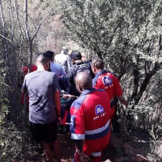 [MONDEOR] Hiker rescued after fall – ER24 WhatsApp Image 2019 05 26 at 16