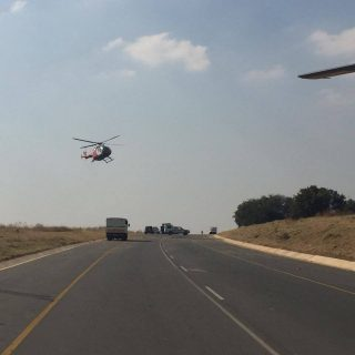 [CENTURION] Two killed, four injured in single bakkie rollover – ER24 WhatsApp Image 2019 05 28 at 14