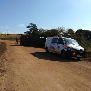 KwaZulu-Natal: At 09H24 Monday morning Netcare 911 responded to reports of a col… 61591676 2343637188990737 5351582448280928256 n 320x320