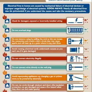 #DYK that fires in homes are caused by mechanical failure of electrical devices … 62084590 2855288747831184 3591895387461386240 n 320x320