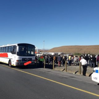 A driver of a passenger bus was arrested in Laingsburg for overloading.  Seating… 62207307 2199560626759417 4730850599019479040 o 320x320