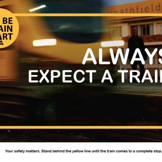 #BeTrainSmart  ALWAYS EXPECT A TRAIN #TrainTalk 62340554 3303792226313007 8201188039658045440 o 320x320