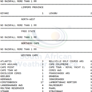 24 hour #rainfall measured at 8:00 this morning. 62529114 1034566333413356 5027862117412241408 n 320x320