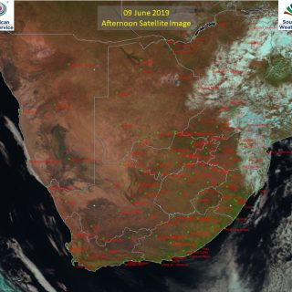 Afternoon satellite image (9 June 2019) – Partly cloudy to cloudy over the extre… 62530745 1033974396805883 1432130130154618880 o 320x320