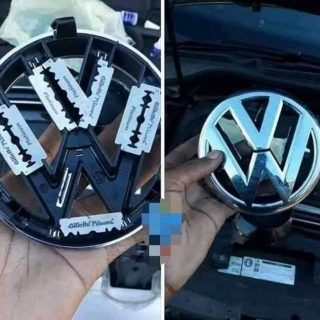This guy says he is sick and tired of his VW badge getting stolen off the grill … 64282332 2104507663008911 3529358576277520384 n 320x320
