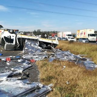 Gauteng: At 10H49 Thursday morning Netcare 911 responded to reports of a collisi… 64418632 2374612532559869 4707417510855573504 n 320x320