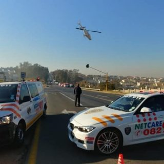 Gauteng: At 08H17 Thursday morning Netcare 911 responded to reports of a collisi… 64725078 2374137015940754 4488441450832330752 o 320x320