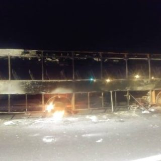 """Multiple vehicles bombed by """"protestors"""" in #CapeTown on the N2 highway.   Pictu… 65004345 2121941627932181 2885580280398086144 o 320x320"""