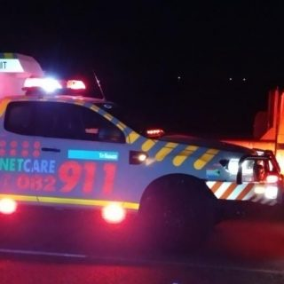 Gauteng: At 19H52 Friday night Netcare 911 responded to reports of a Pedestrian … 65033675 2378968785457577 7936734778550648832 o 320x320
