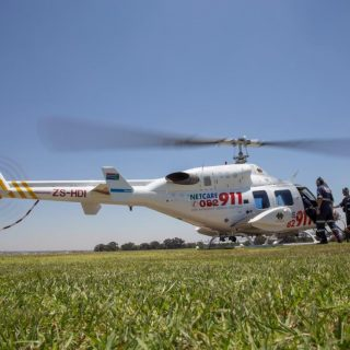 Gauteng Helicopter Emergency Medical Services: Netcare 1 a specialised helicopte… 65081310 2386397851381337 8125447214811054080 o 320x320