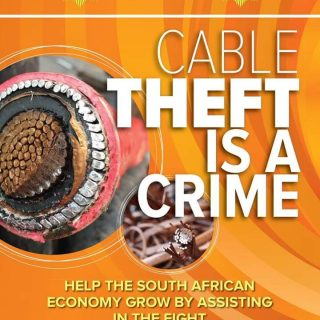 Cable theft is one of the main reasons for constant power outages.  Report cable… 65310809 2901331979893527 778030138804666368 n 320x320