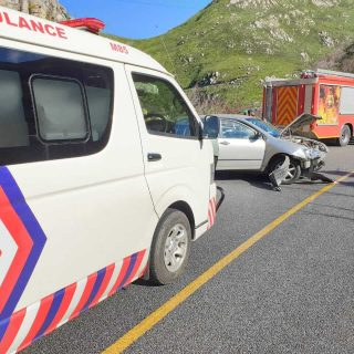 [GEORGE] – Vehicle crashes into barrier leaves two injured. – ER24 GEORGE     Vehicle crashes into barrier leaves two injured 320x320