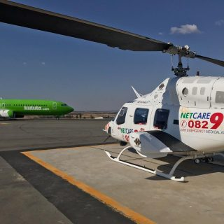Gauteng Helicopter Emergency Medical Services: Netcare 1 a specialised helicopte… 64608187 2411000388921083 3853123570511118336 o 320x320