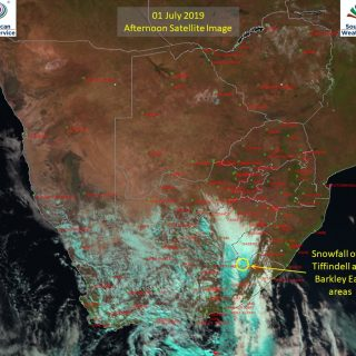Afternoon satellite image (1 July 2019) – Snowfall reported at Tiffindell and th… 65544648 1049747958561860 3519002830306279424 o 320x320
