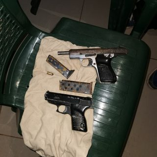 Firearms Recovered: Umhlanga – KZN  A resident of Herwood Drive in Umhlanga Rock… 65801131 2578197158865529 6827354037482946560 o 320x320
